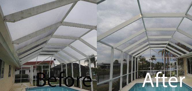Photo gallery baker 39 s painting for Pressure clean pools
